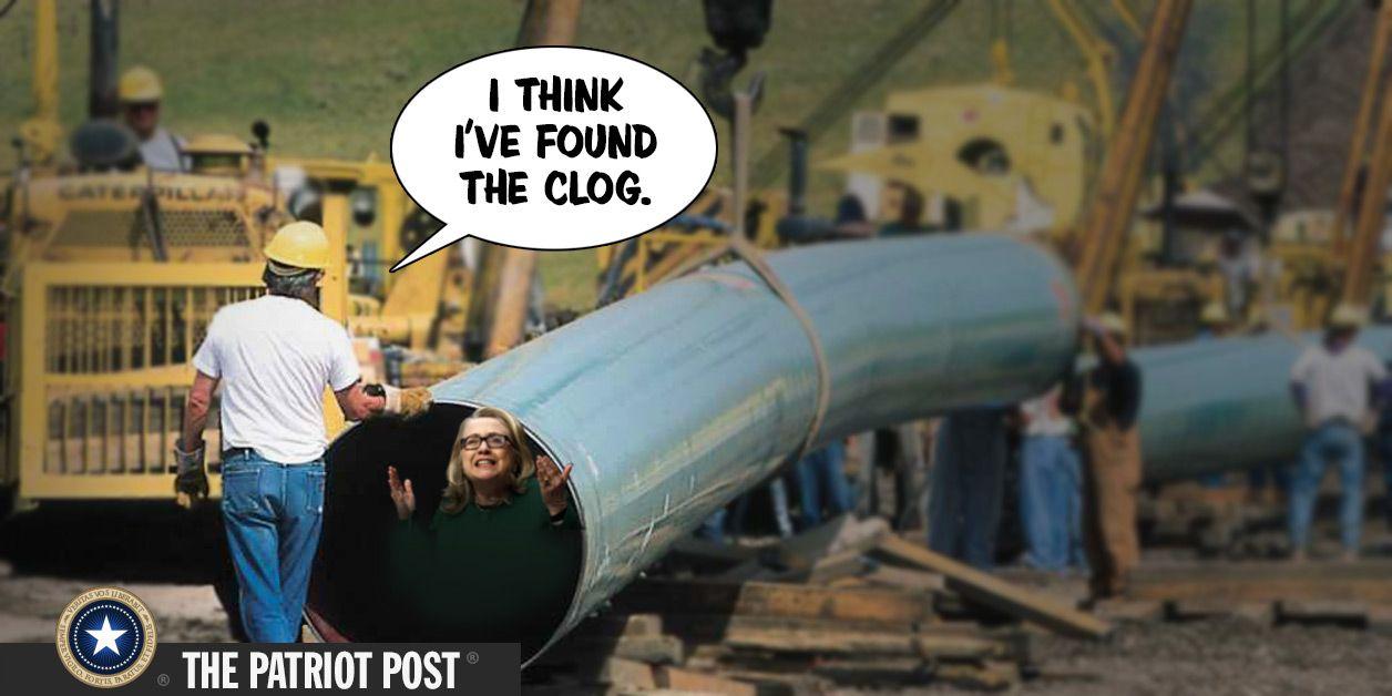 Hillary FlipFlops on Her Keystone Pipeline Legacy