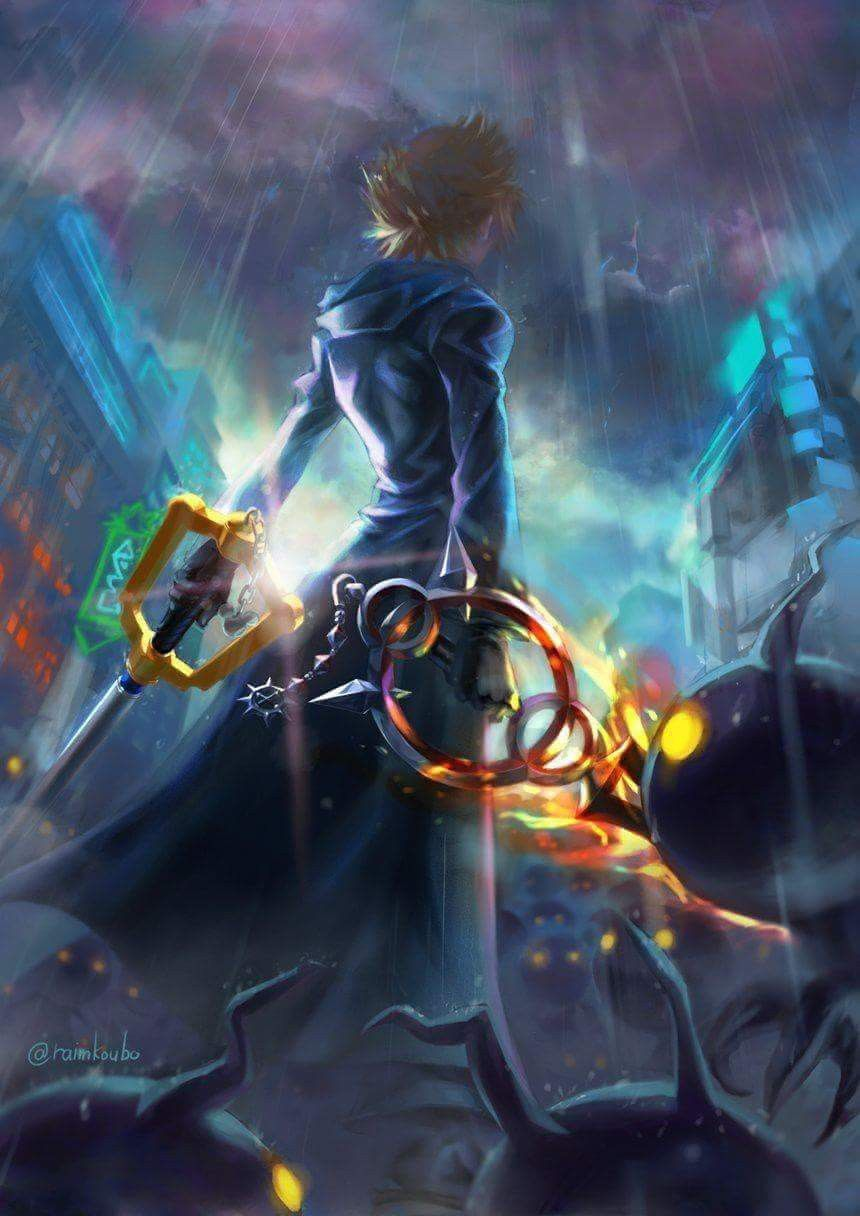 Pin By Ang On Planos De Fundo Kingdom Hearts Wallpaper Kingdom Hearts Fanart Roxas Kingdom Hearts