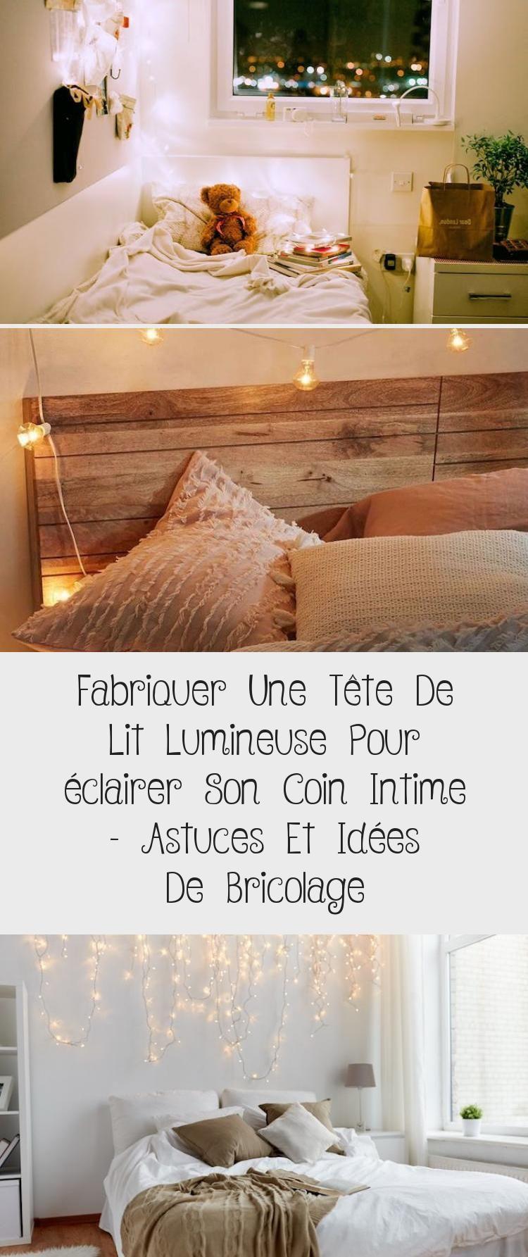 Tete De Lit Voile fabriquer une tête de lit lumineuse pour éclairer son coin