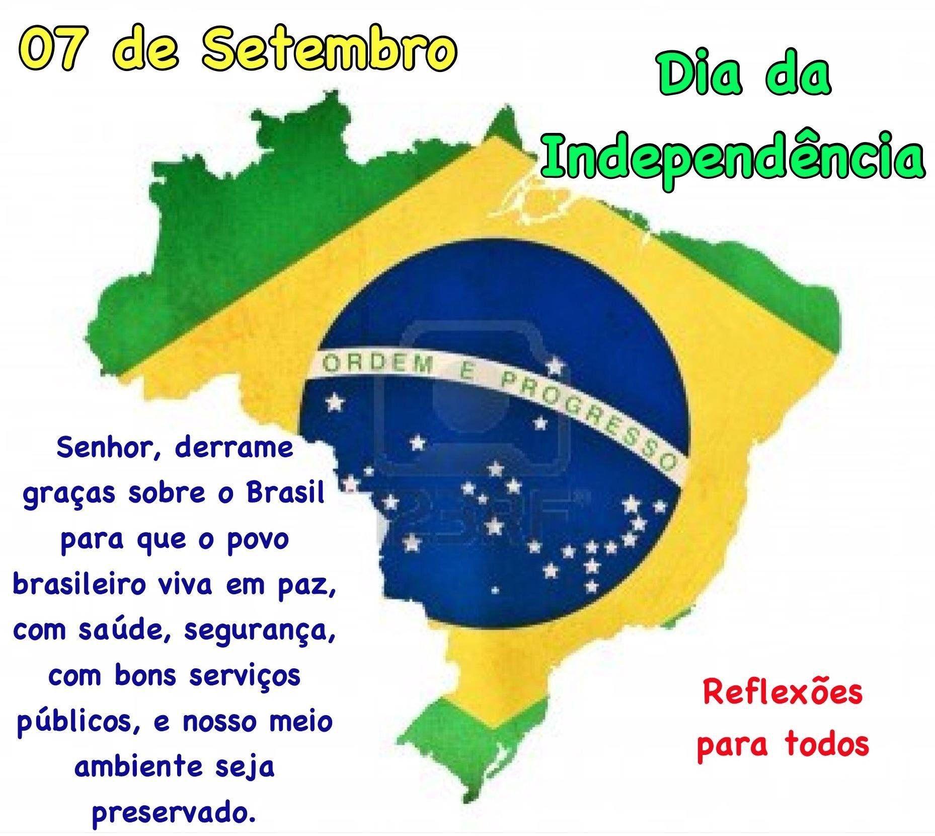 07 de setembro - Dia da Independência do Brasil Acesse a história da Independência do Brasil.