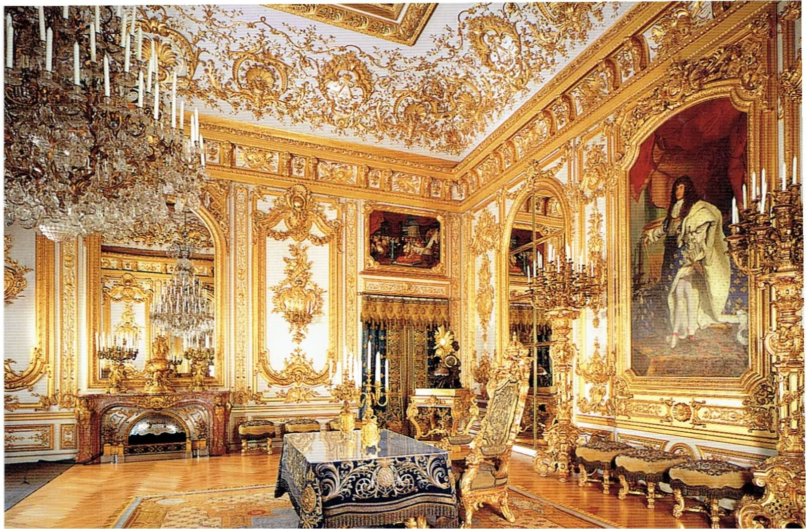 Schloss Linderhof Castle 30 Most Beautiful Interior Pictures Of The Linderhof Palace Palace Interior Castles Interior Beautiful Interiors