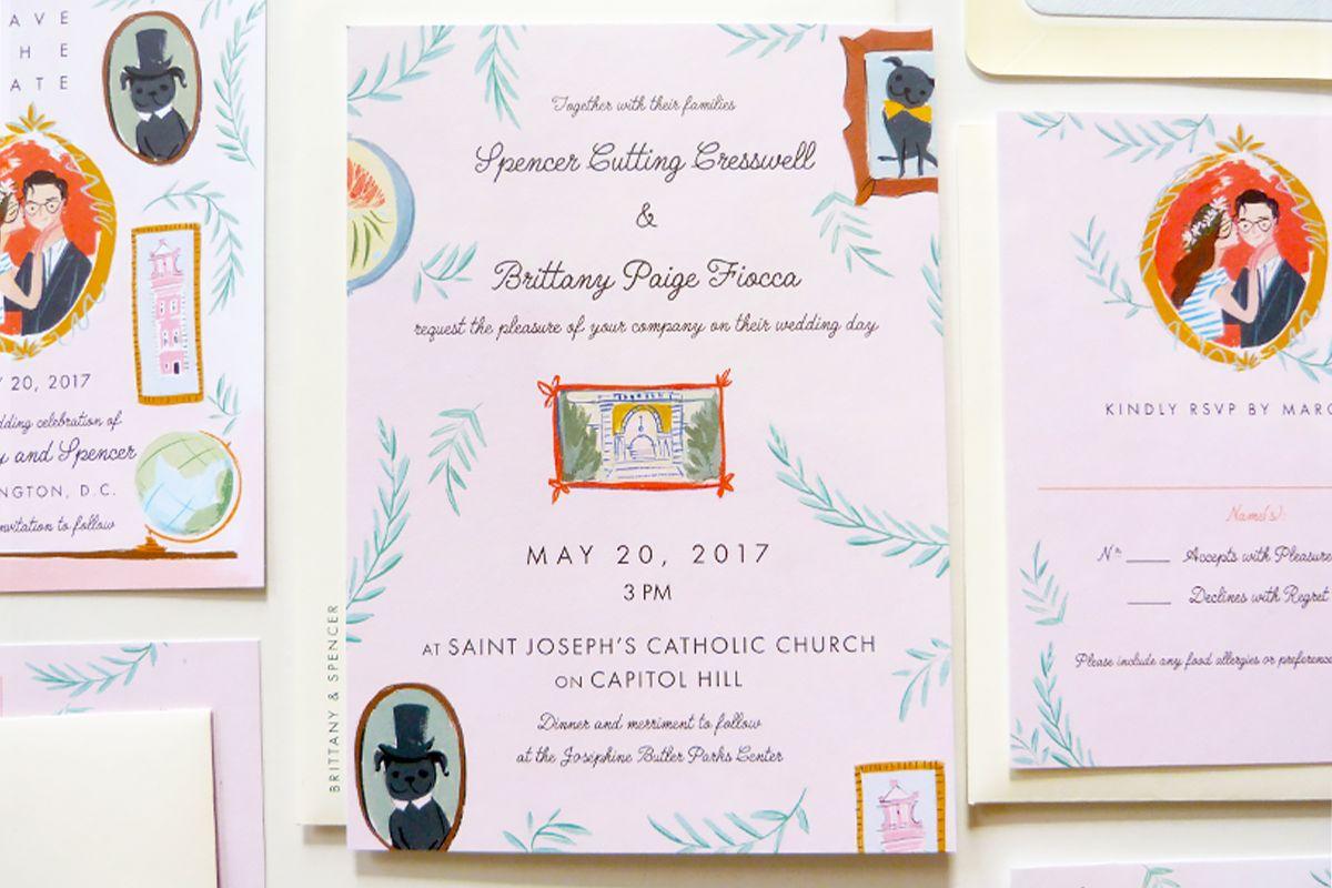 Major Wedding Stationery Customisation