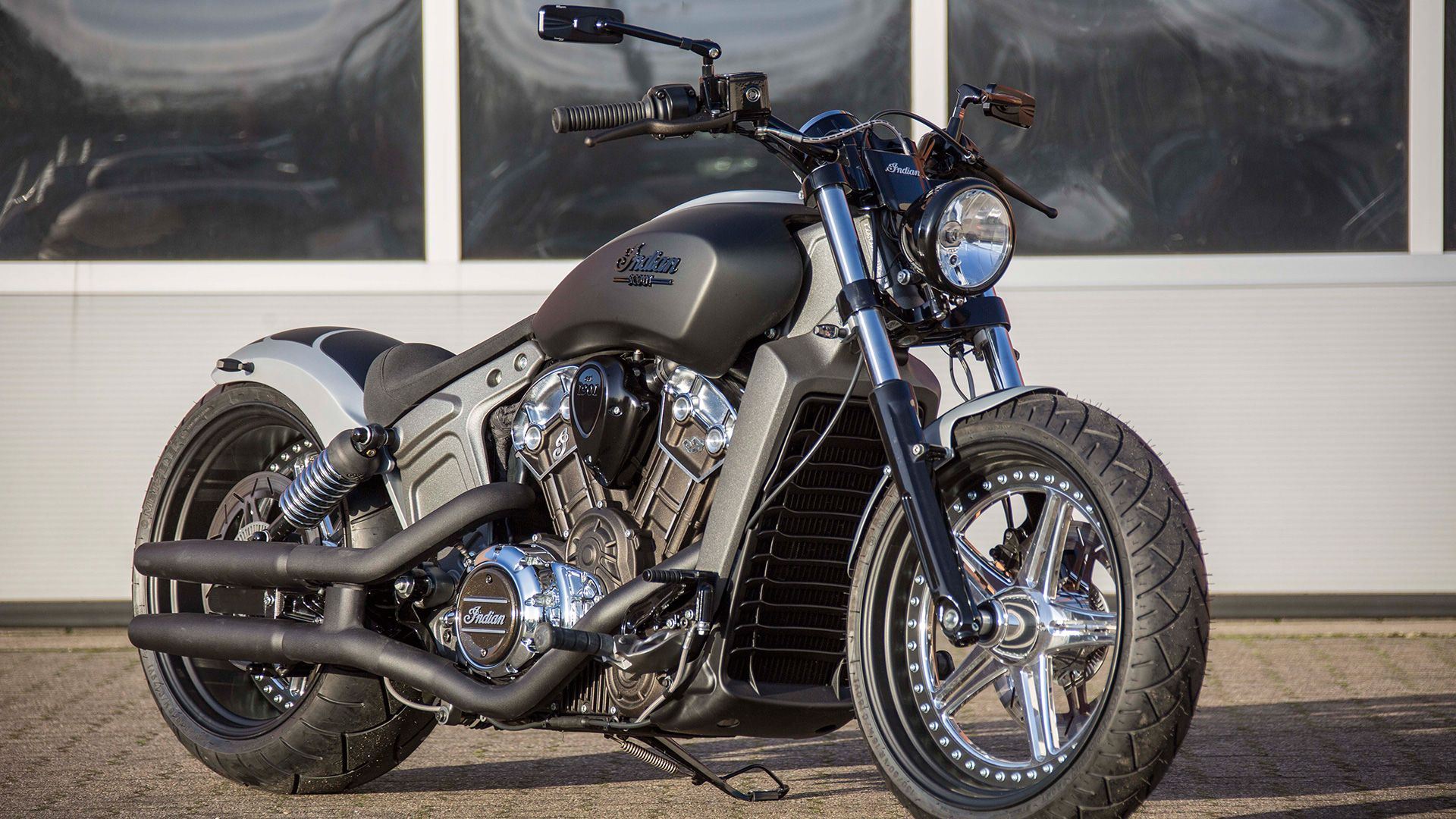 Big Foot The Name Says it All Project Scout Moto et