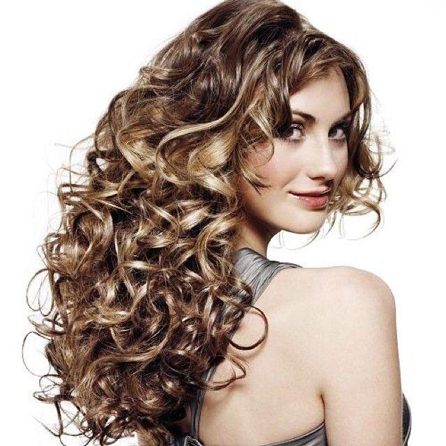 Instagram Insta Glam Big Bouncy Curls Permed Hairstyles Medium Hair Styles Long Hair Styles