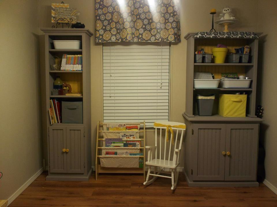 Yellow Classroom Decor : I created this grey yellow and black classroom. homeschooling