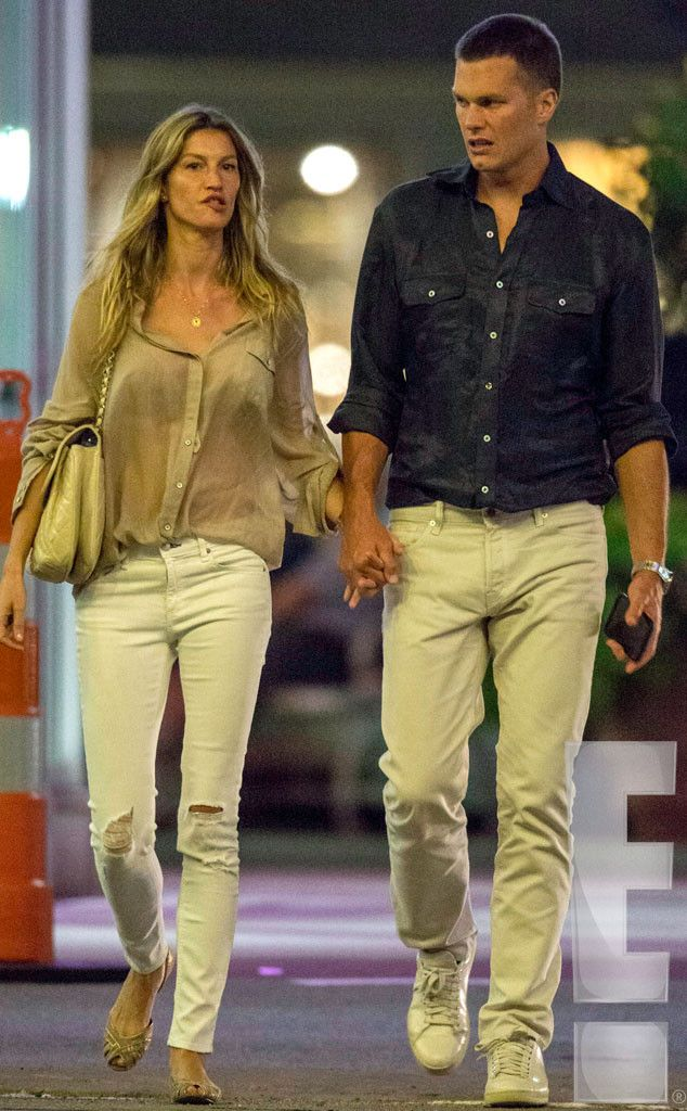Tom Brady and Gisele Bündchen Hold Hands During Movie Date