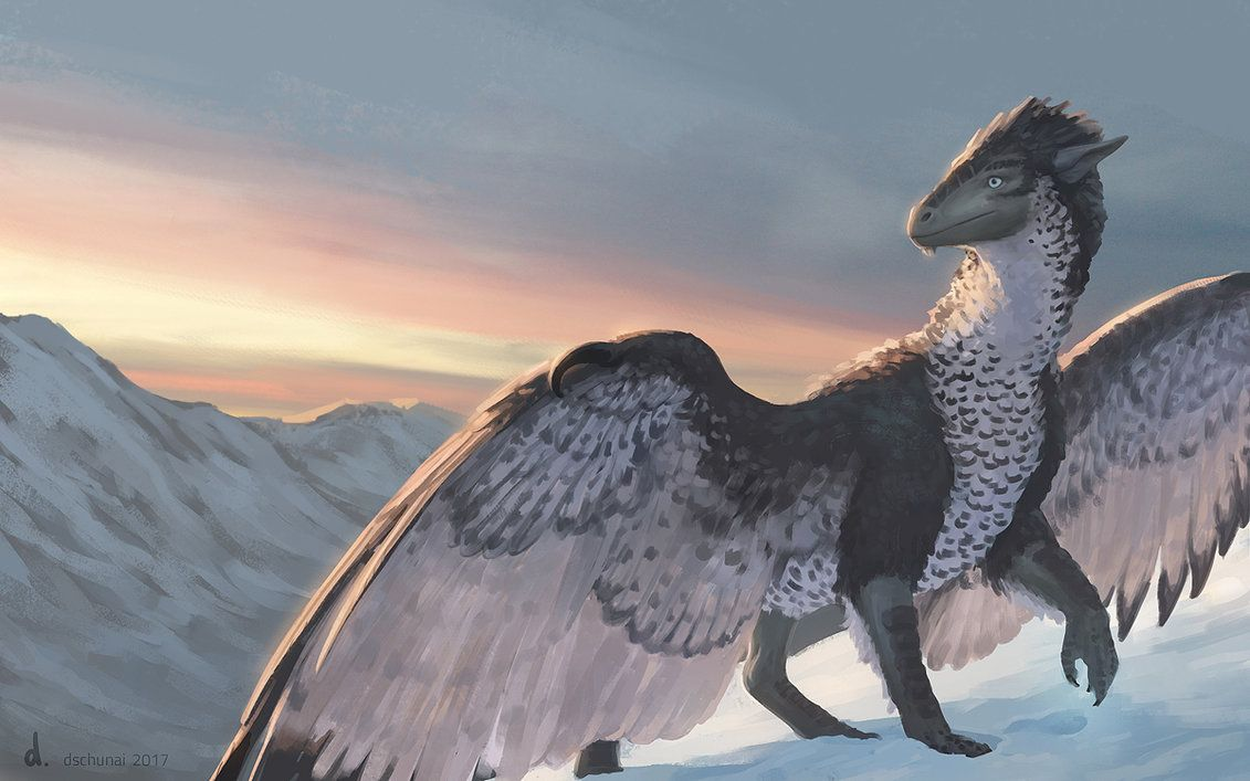 Frost and Feathers by dschunai