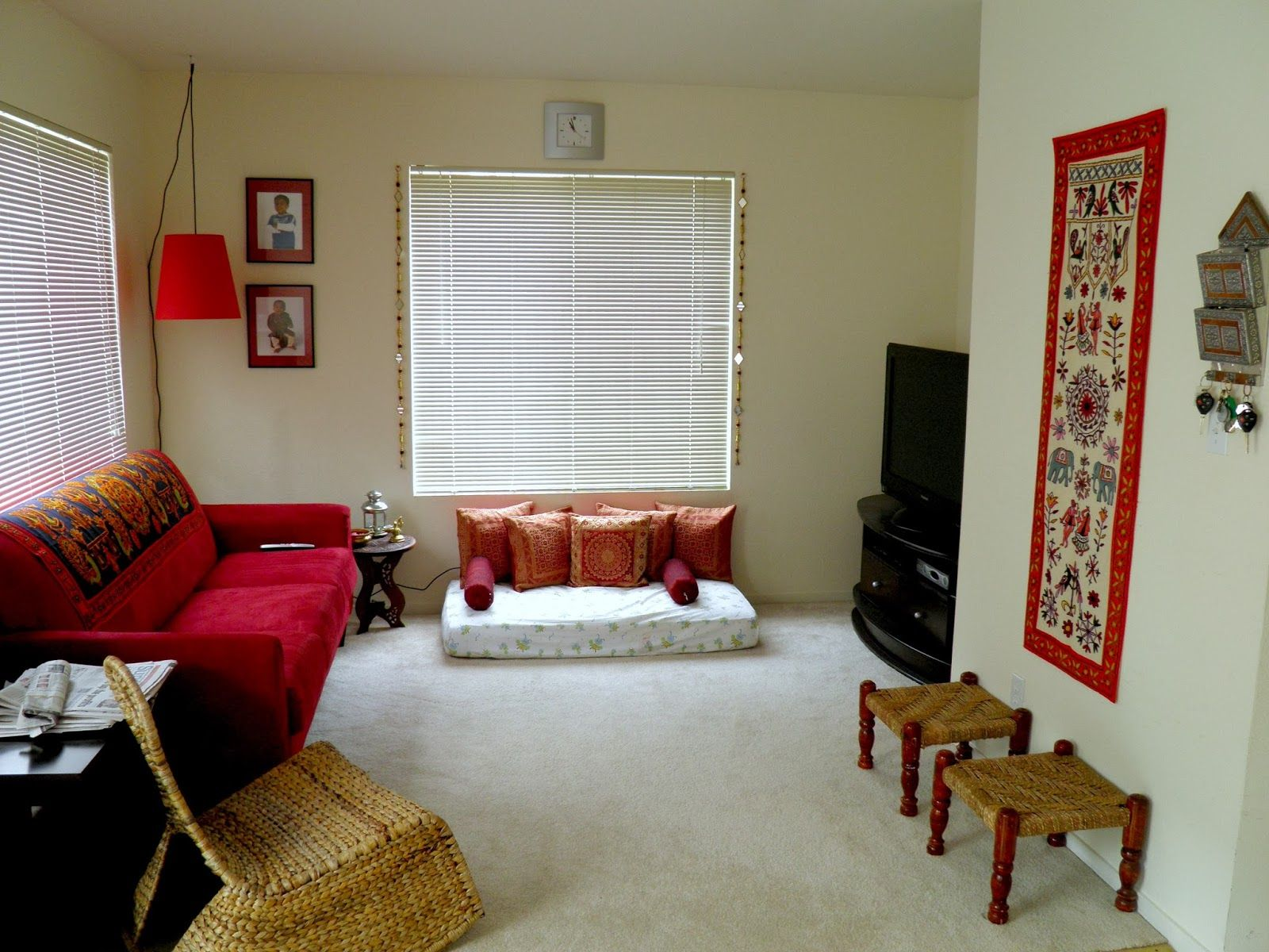 captivating indian small living rooms decorating ideas | Small little tweaks makes all the difference!: FAMILY ROOM