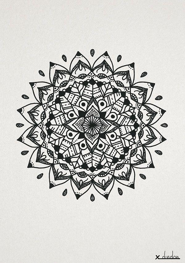 Mandalas | Zendalas on Behance | Handy Hülle | Pinterest | Mandala ...
