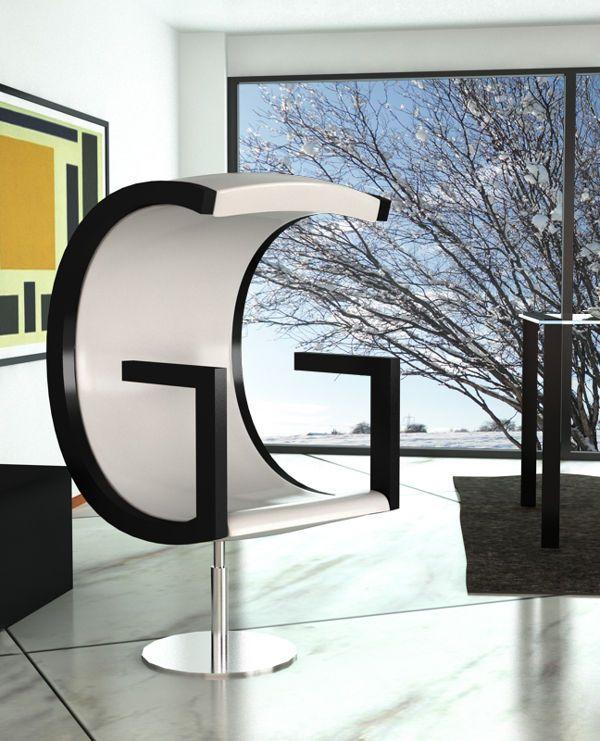 Unique Letters Furniture Design Furniture Design Stylish Furniture Decor