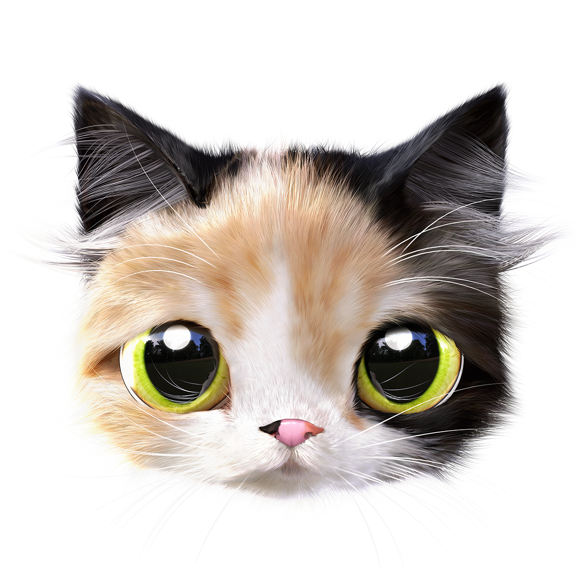 Think About The Cat On Behance Cats Dog Art Group Of Cats
