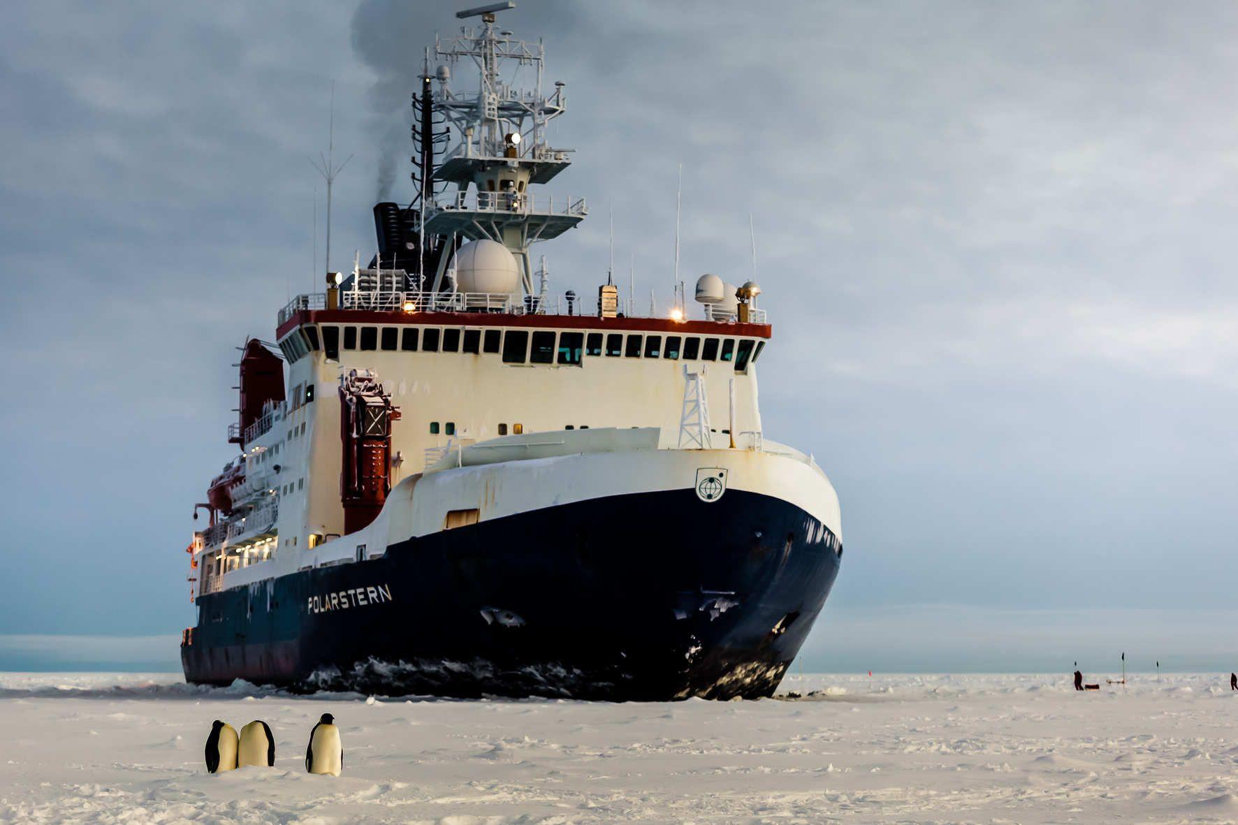 weltoffen- Expedition Kälte nach Antarktika  AWI - Foto by Mario Hoffmann
