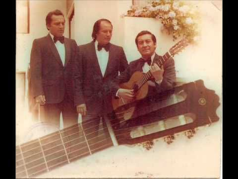 Trio Los Romanticos Si Tu Me Dices Ven Romantico Musica Youtube