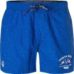 North Sails Schwimm-Shorts Herren, Baumwolle, blau North Sails