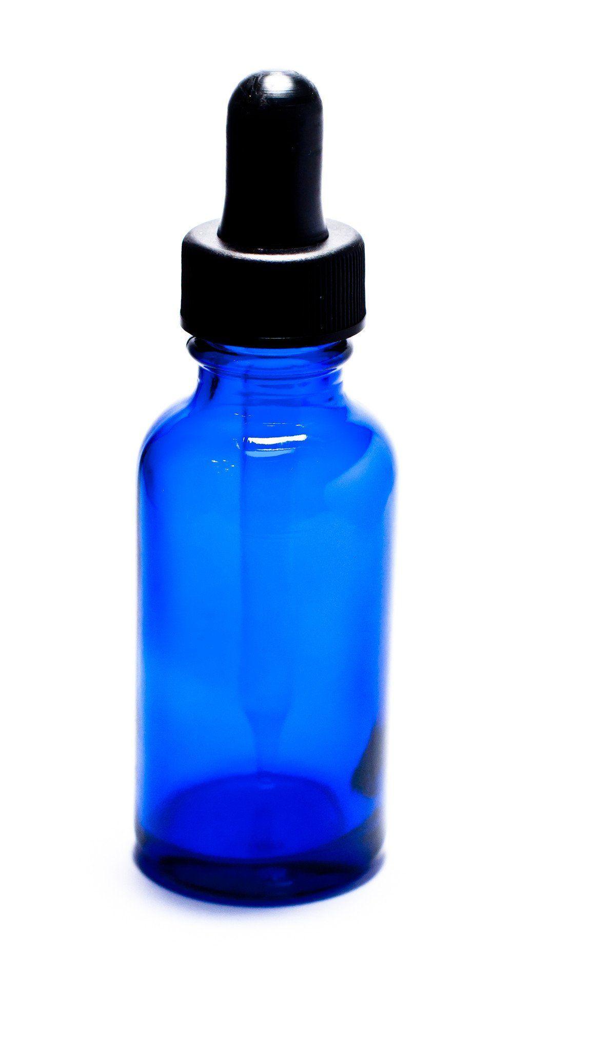 1 Oz Blue Glass Bottle W Dropper Blue Glass Bottles Bottle Glass Spray Bottle