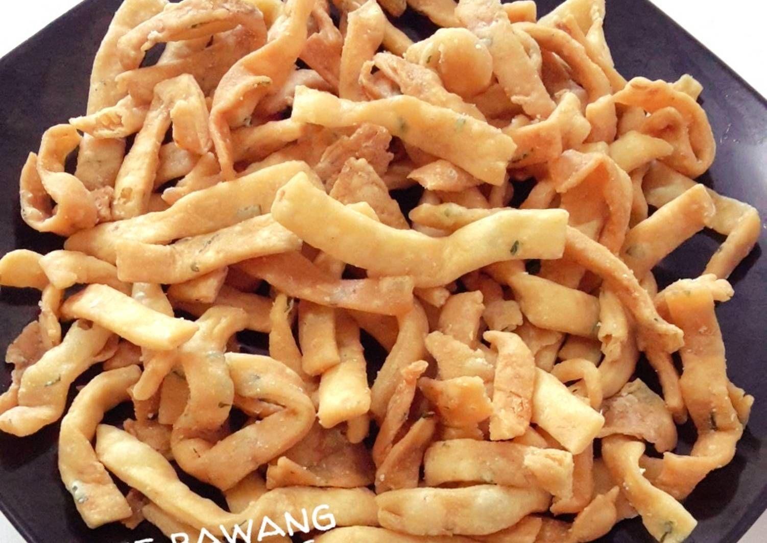 Resep Kue Bawang Renyah Oleh Amei Resep Makanan Ringan Pedas Resep Kue Makanan Ringan Gurih