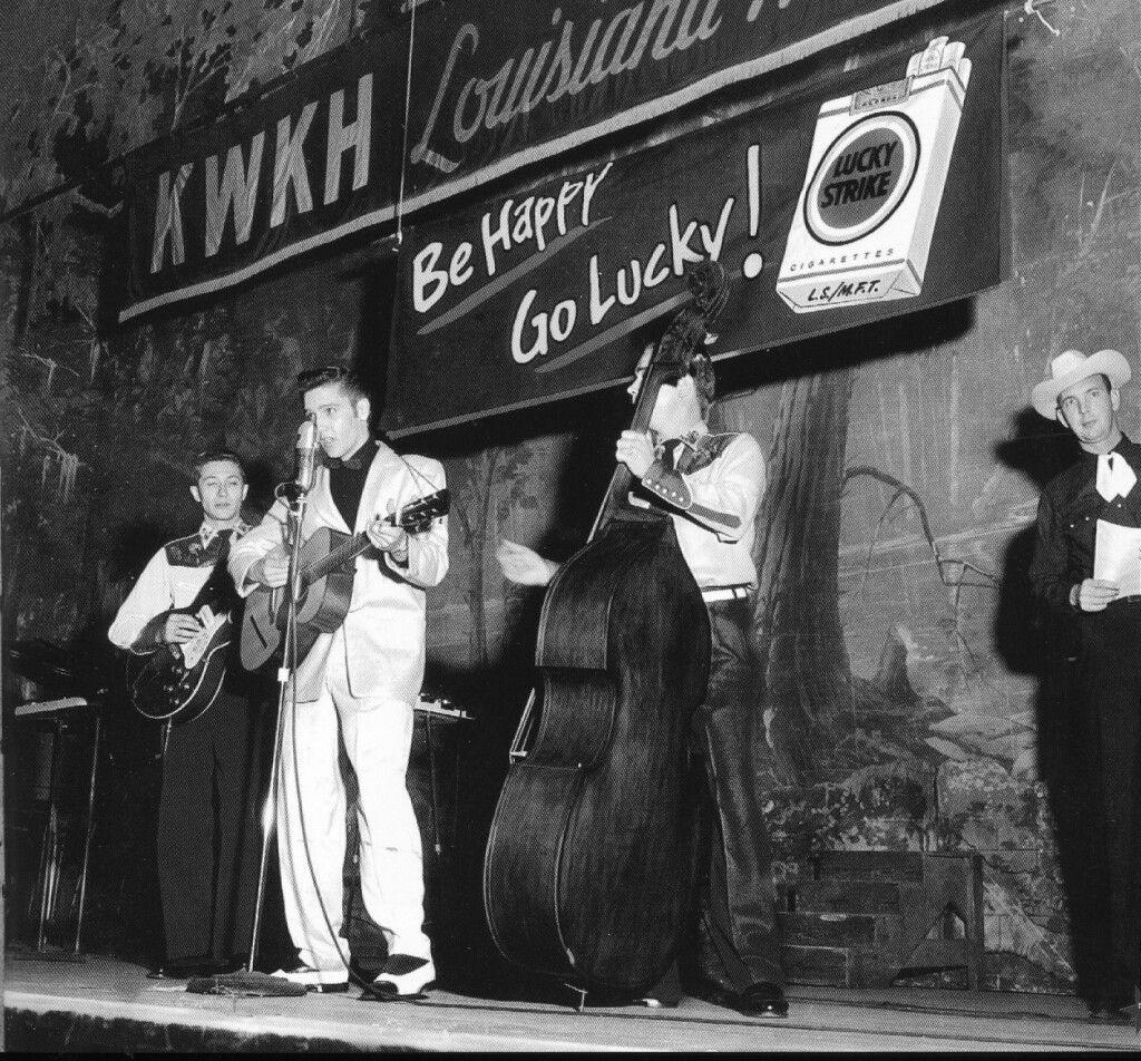 October 16, 1954 Elvis Performed At The Louisiana Hayride