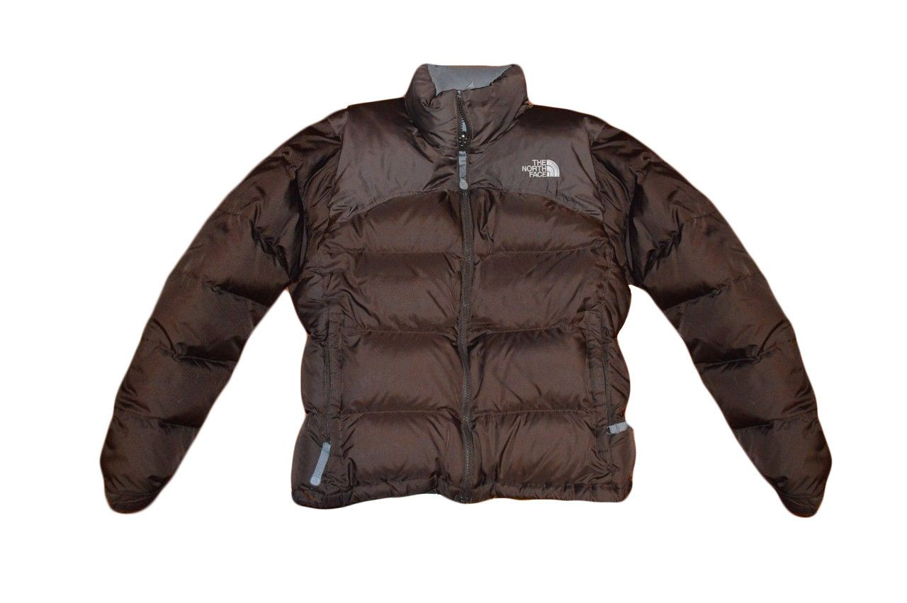 The North Face Womens 700 Down Fill Nuptse Jacket Small Brown By VapeoVintage On Etsy