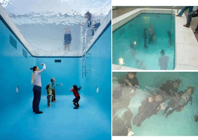 Swimming Pool Museum Of Contemporary Art Kanazawa Japan