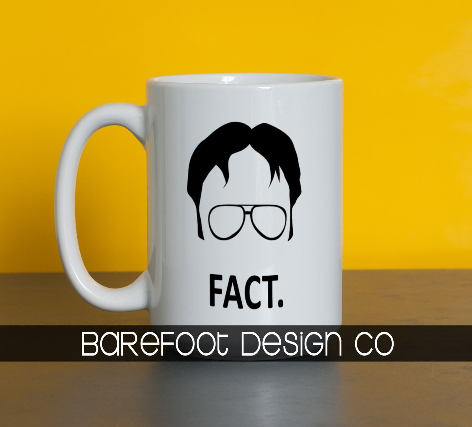 Dwight Schrute Coffee Cup Fact Coffee Is A Language In