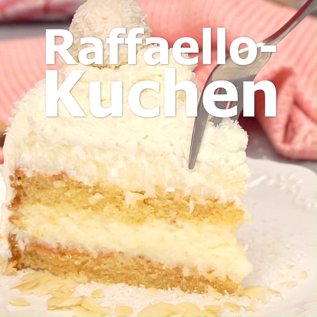 Raffaelo-Kuchen: Ein Traum aus Kokos
