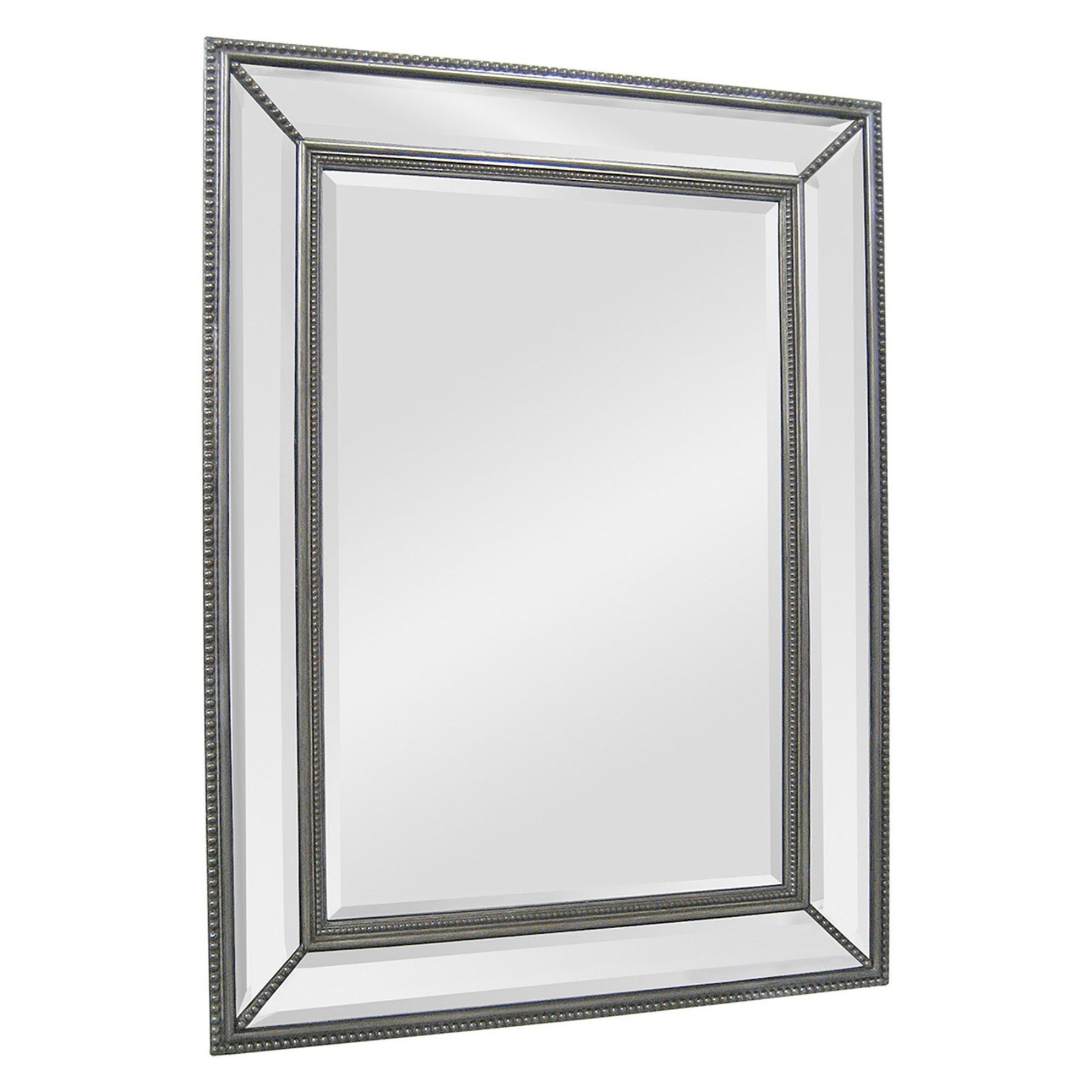 Ren-Wil Sophisticated Silver Wall Mirror - 40W x 51H in. - MT783