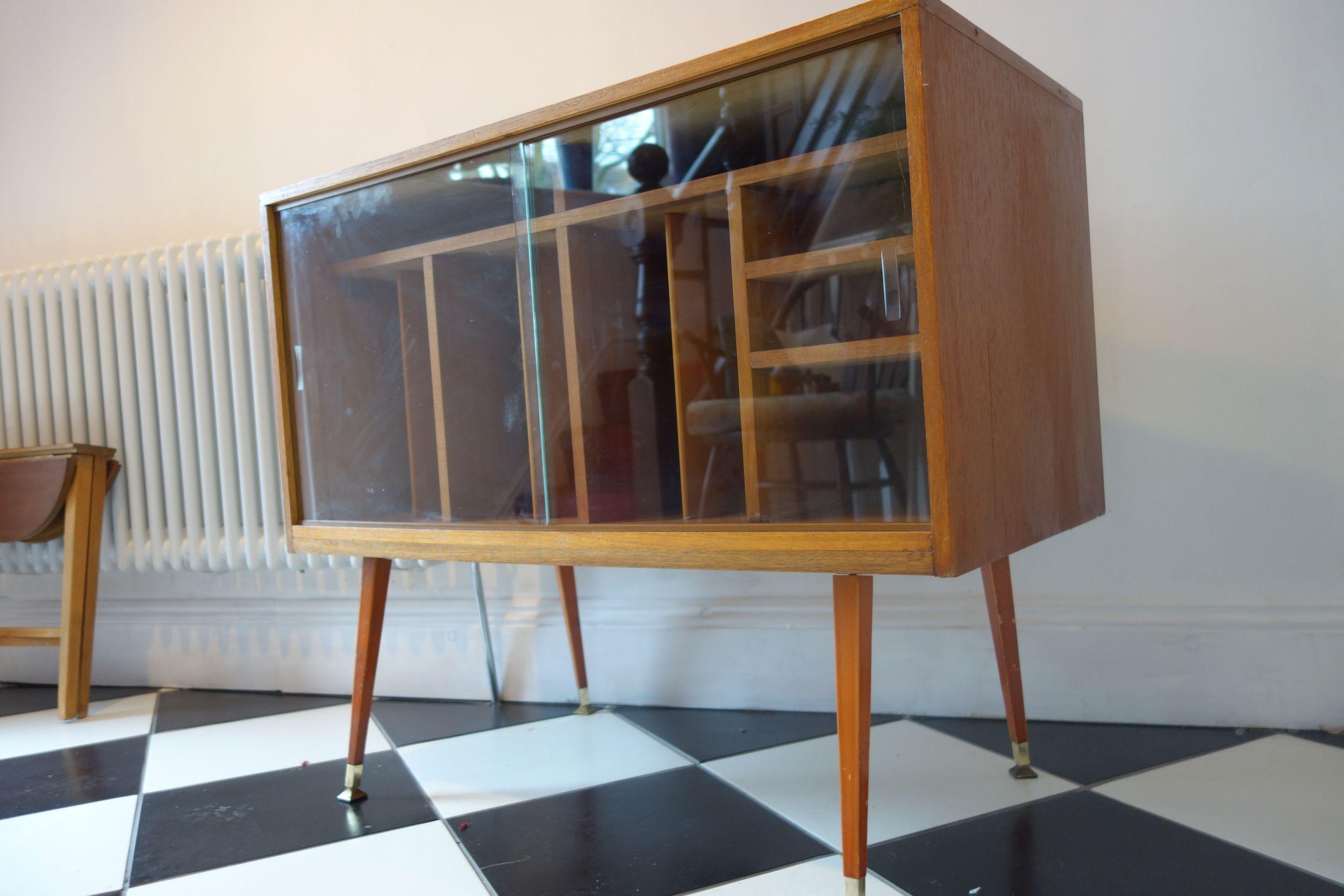 Retro vintage mid century atomic dansette record cabinet glass doors retro vintage mid century atomic dansette record cabinet glass doors planetlyrics Images