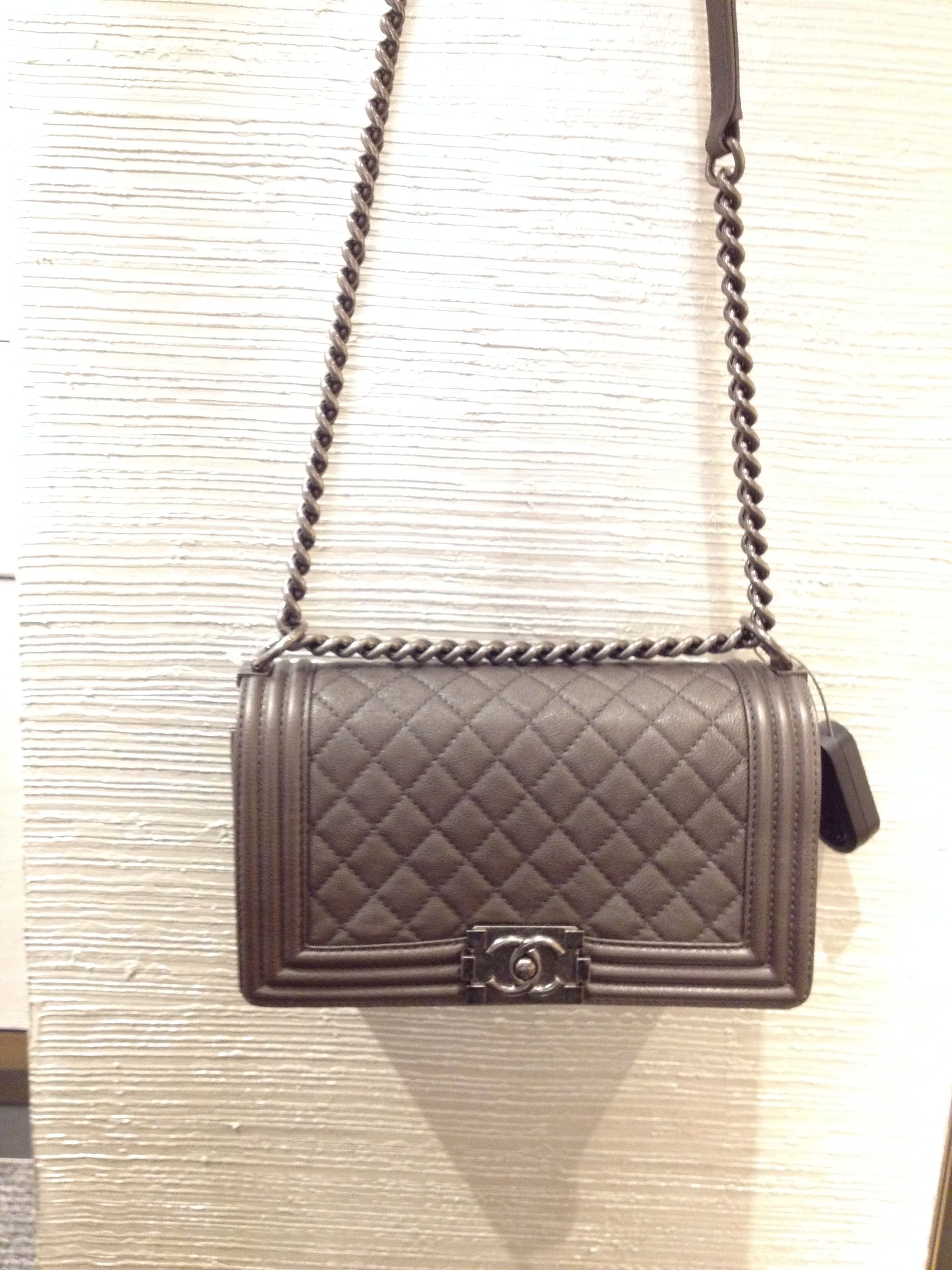eb8c1d7e4f2e Dark grey calf le boy bag 2013 - Bergdorf reserved for me!! | BAGS ...