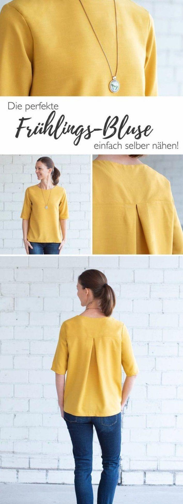 Die perfekte Fr hlings-Bluse einfach selber n hen Weitere ...