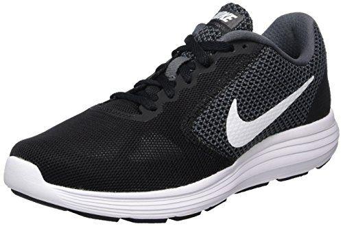 Nike Wmns Revolution 3 Zapatillas de Running para Mujer Negro