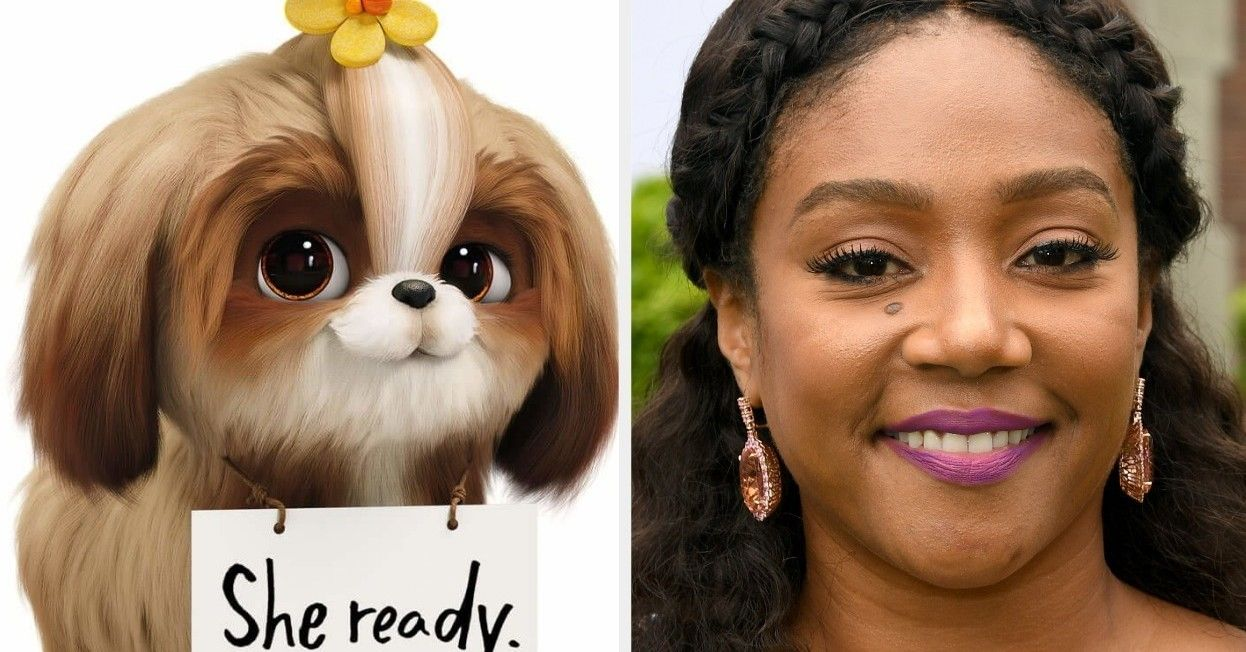 Here S The Secret Life Of Pets 2 Actors Side By Side With Their Characters Secret Life Of Pets Secret Life Pets