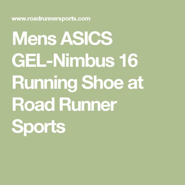 Mens ASICS GEL-Nimbus 16 Running Shoe at Road Runner Sports