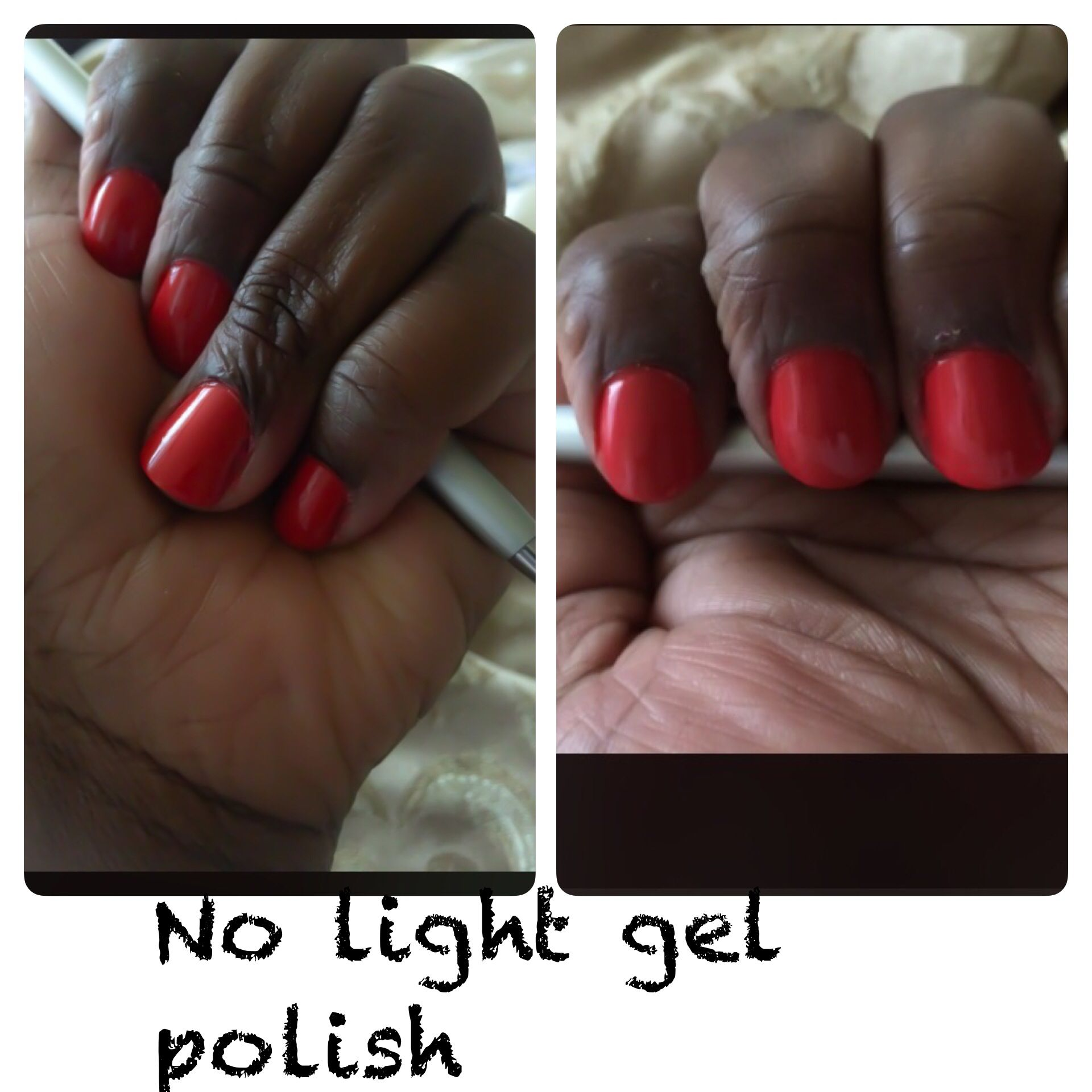I really like this no light gel polish, it's stays on, as advertised