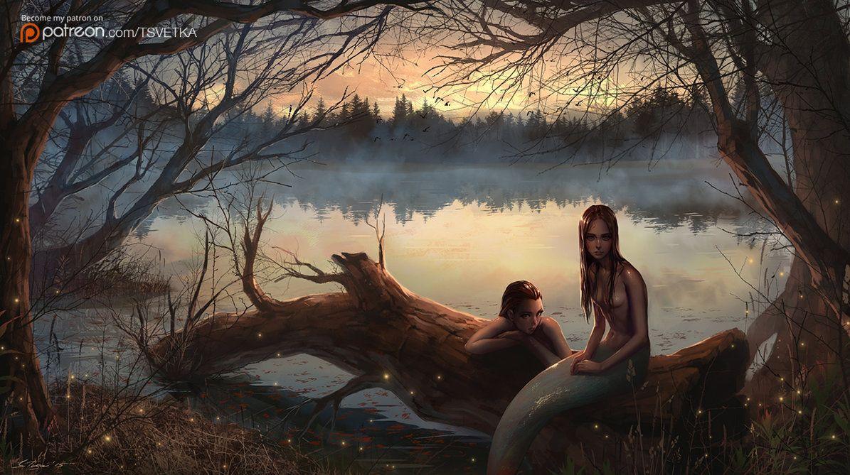 Pond by Tsvetka