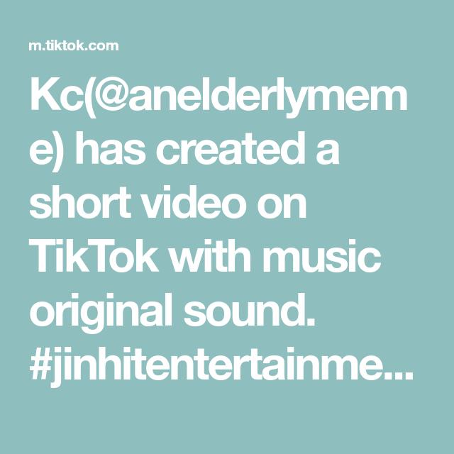 Kc Anelderlymeme Has Created A Short Video On Tiktok With Music Original Sound Jinhitentertainment Cannot Be Stop The Originals Let Me Love You Slayer Meme