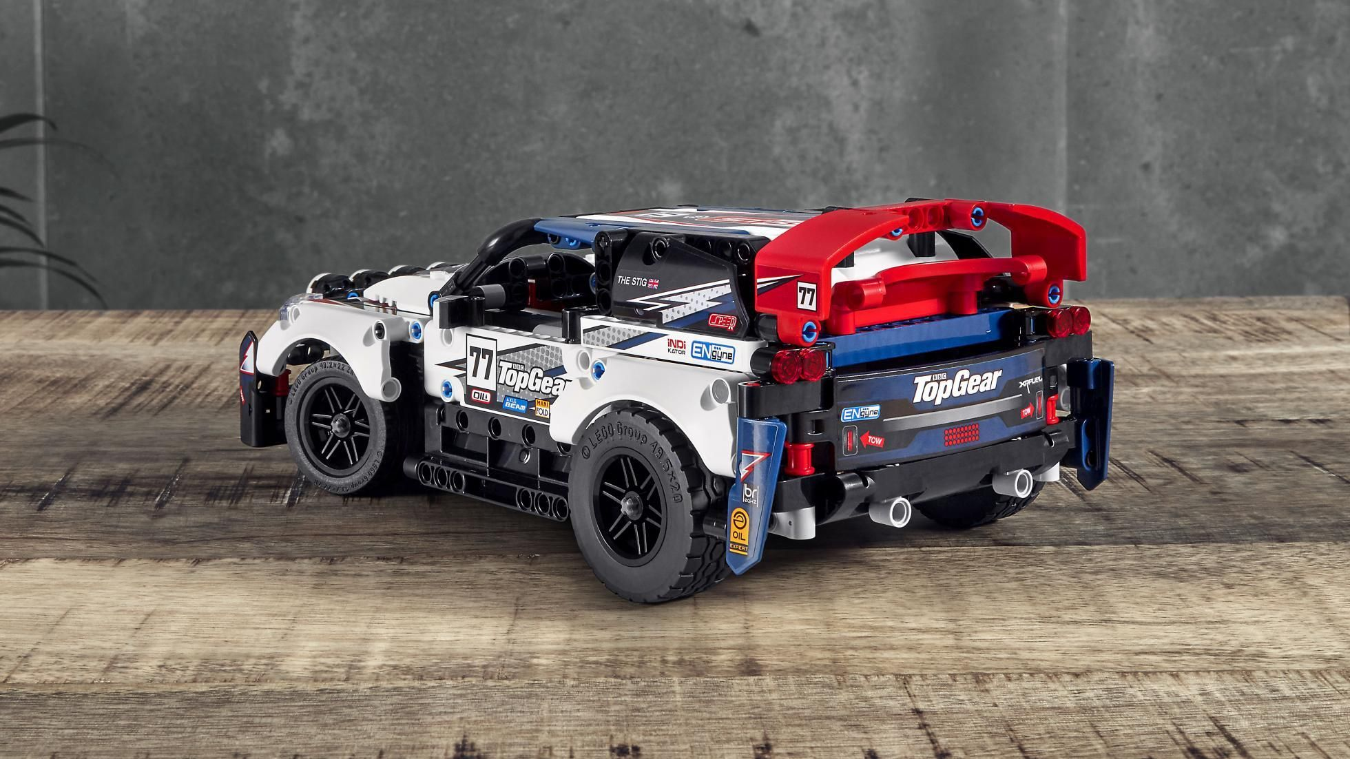 Behold, the remotecontrolled Lego Technic Top Gear Rally