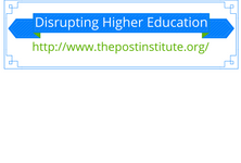 I love the topic disruptive innovation and the work of Clayton Christensen on the topic of disrupting the classroom. This board is dedicated to the topic of disrupting higher education.