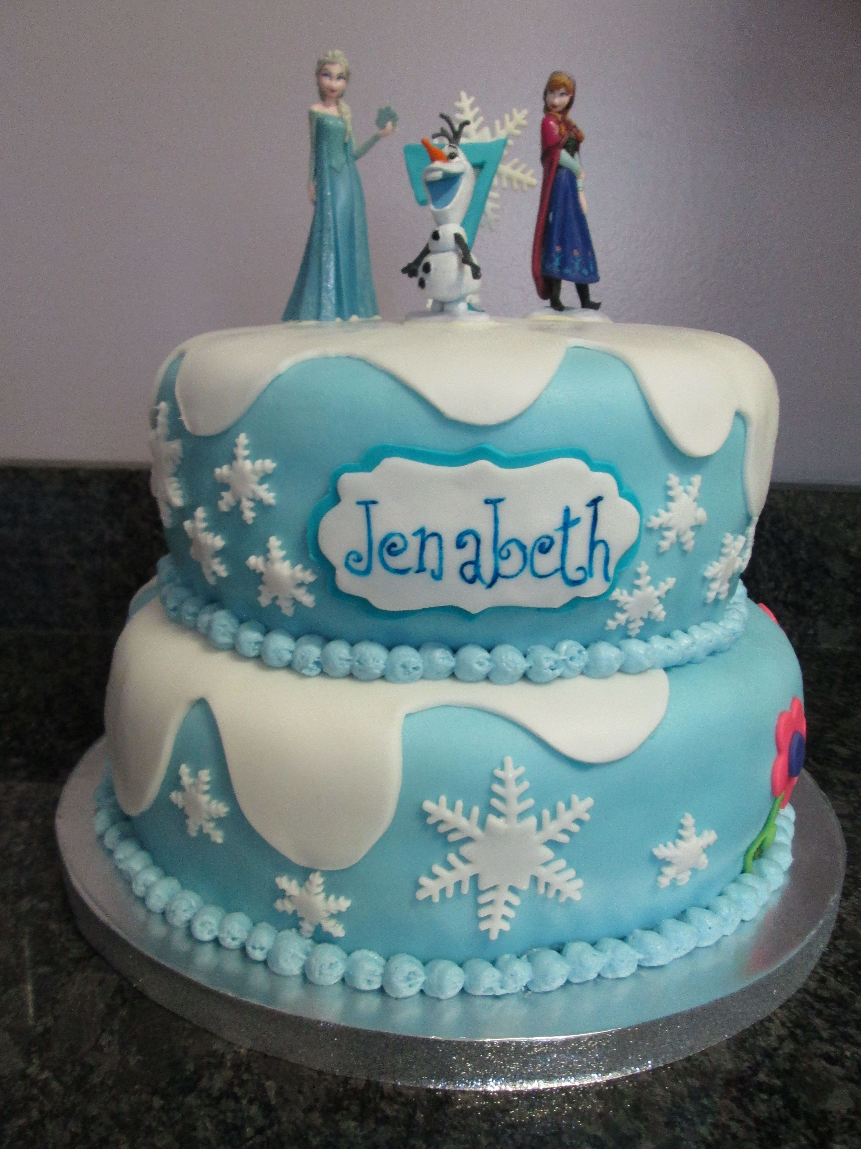 Guess Howe Much I Love You Frozen Birthday Cake Frozen Cake