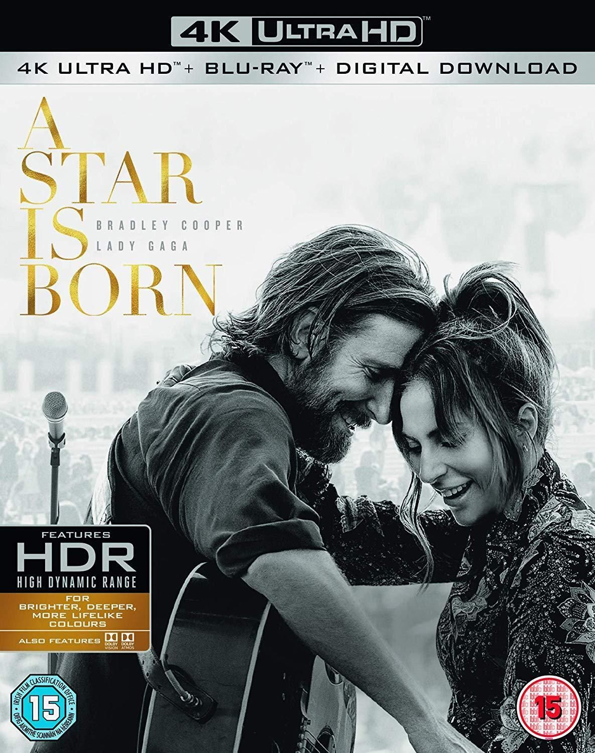 A Star Is Born 2018 4k Ultra Hd Bradley Cooper Lady Gaga