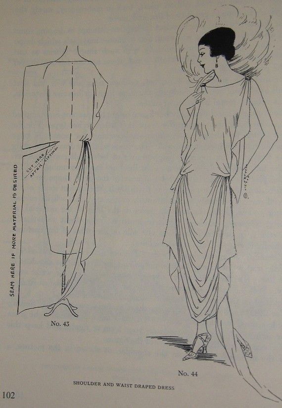 ABC in Dressmaking from 1923 20s Easy Great Gatsby Design for ...
