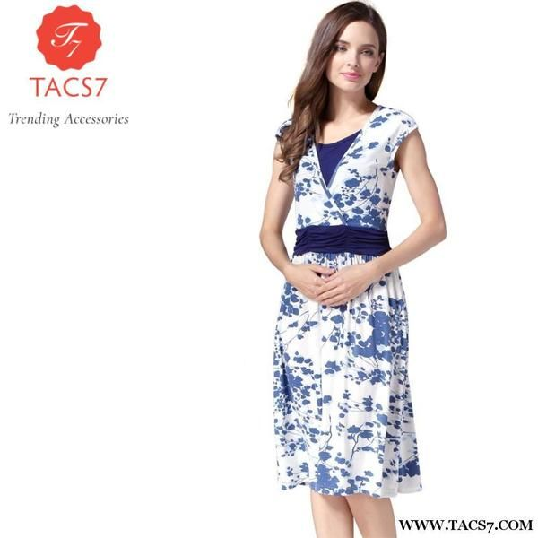d80f83ad28d Emotion Moms Summer Maternity Clothes Nursing Pregnant Dress Breastfeeding  For Women Dresses