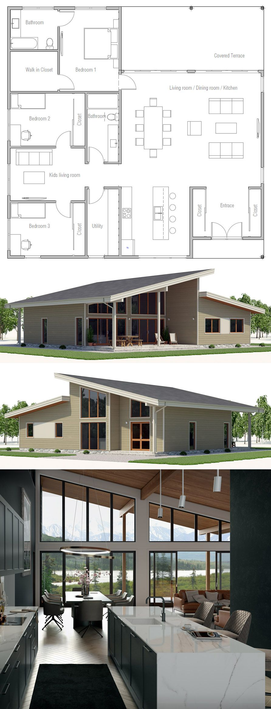 Architecture Home Plans Adhouseplans Homedecor Newhome House Designs Exterior Facade House House Exterior