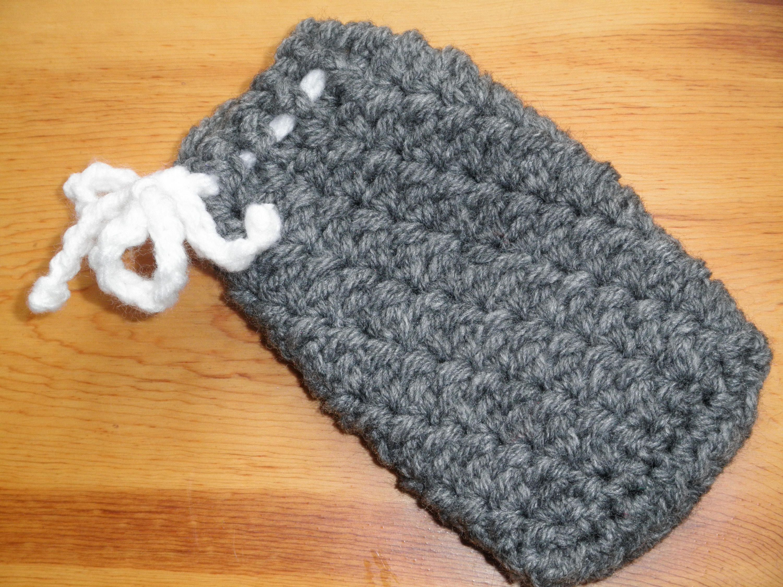 Gift set, Soap savers, washcloths, crochet, stocking stuffer, luffa ...