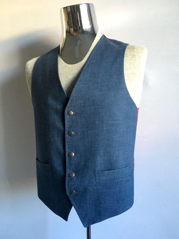 Vintage Handkerchief Vest