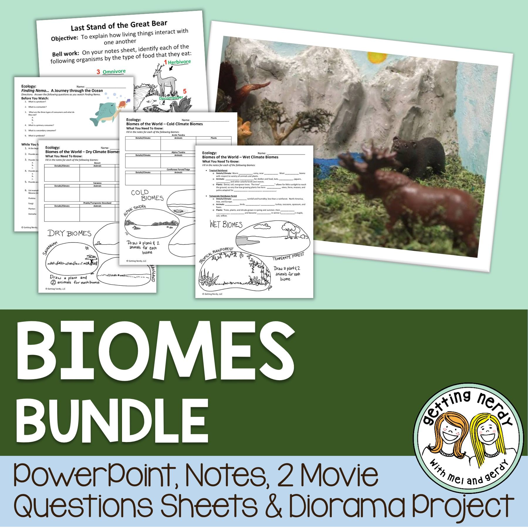 Ecosystems And Biomes Of The World