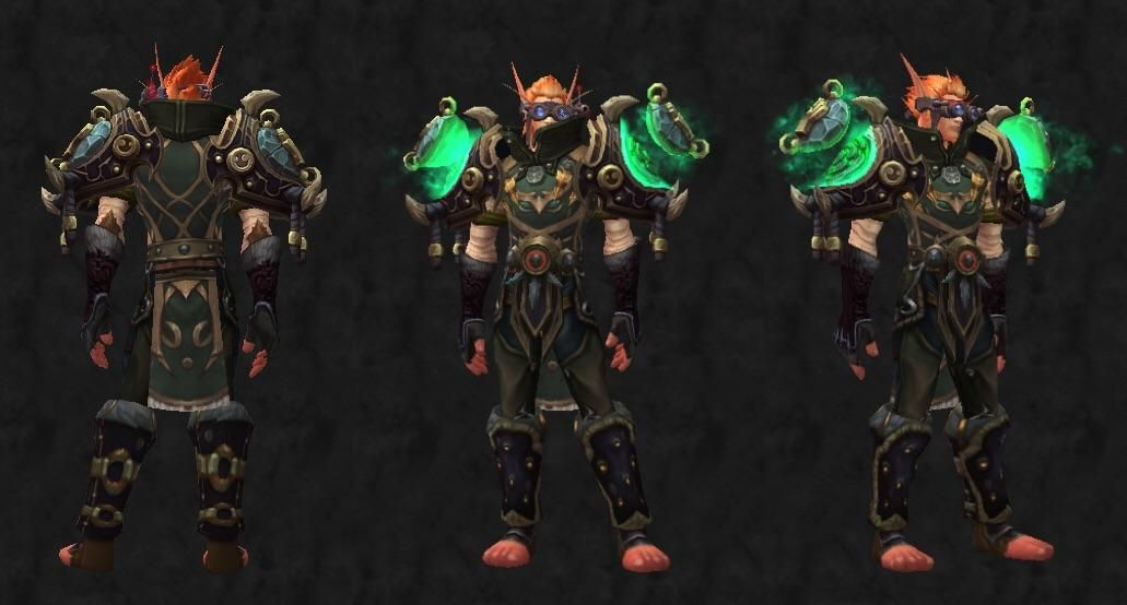 Windwalker Monk Transmog Worldofwarcraft Blizzard Hearthstone