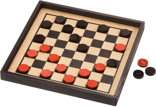 Checkers, Premium Crown Set | Checkers, Wooden games ...