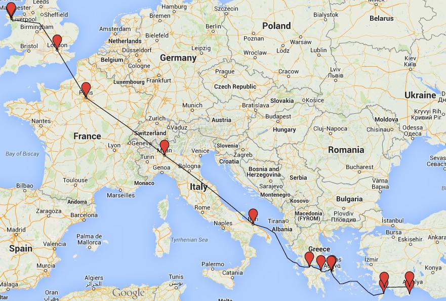 pin turkey map on-#23