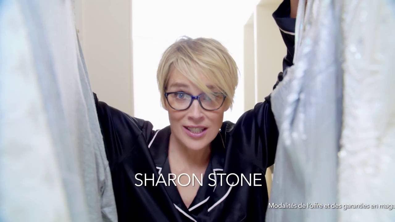 Campagne Sharon Stone \u0026 ALAIN AFFLELOU