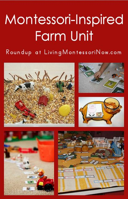 Montessori Monday – Montessori-Inspired Farm Unit